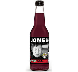 Jones Soda: Warheads Sour Black Cherry