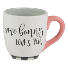 Load image into Gallery viewer, Bunny Ears Some Bunny Loves You Mug