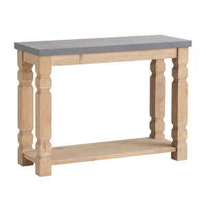 Console Table w/ Gray Table Top