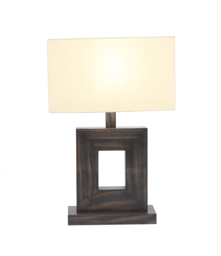 Wood Metal Table Lamp 21