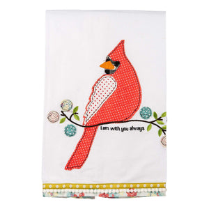 I Am With You Always Tea Towel