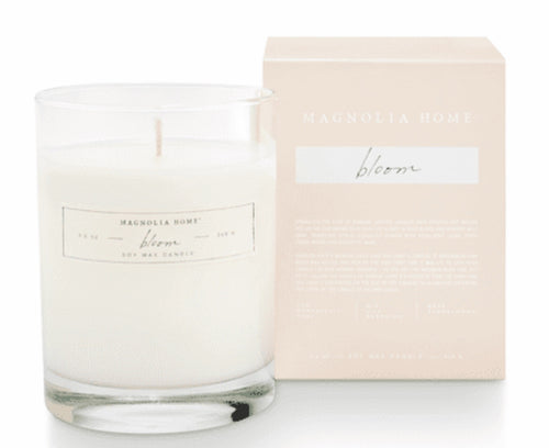 Boxed Candle Bloom-Magnolia Home
