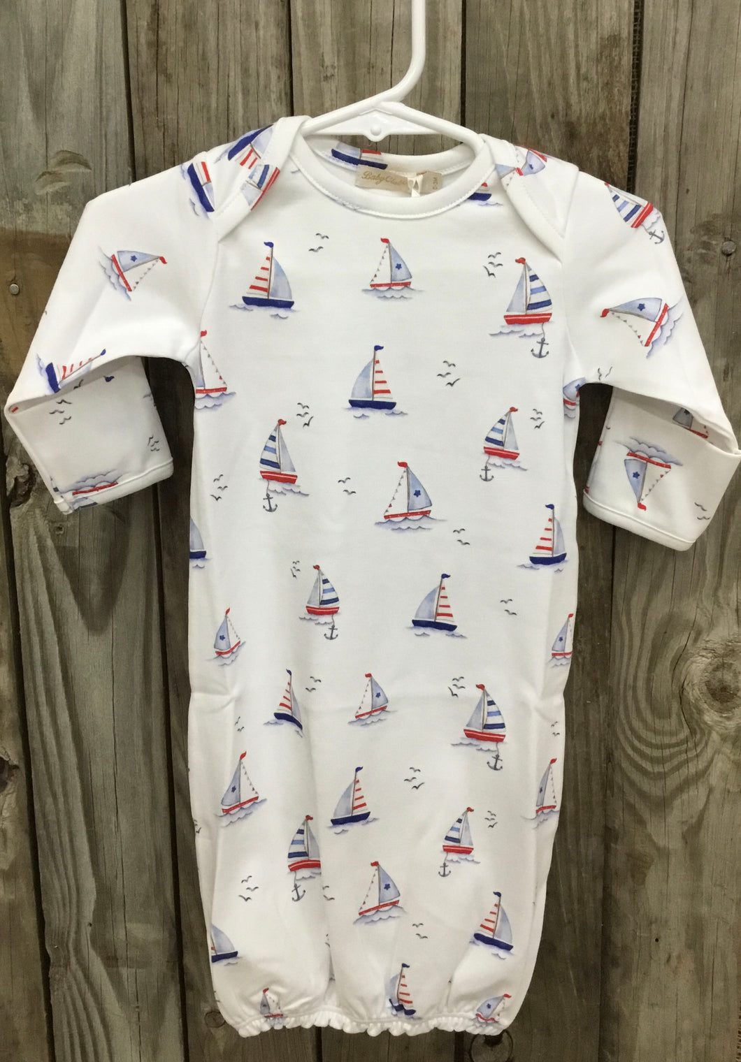 Sailing Boats Kid Gown