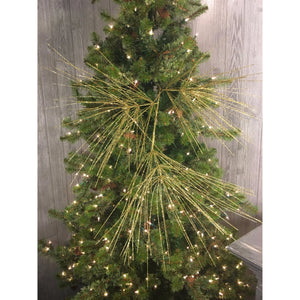 "46"" Jumbo Long Needle Pine Spray in Gold"