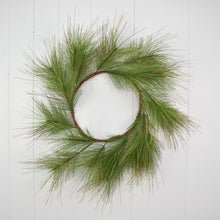 Load image into Gallery viewer, 24'' Woodland Long Needle Pine Wreath