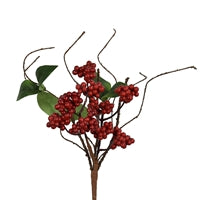 14'' Mini Pyrocantha Berry/Leaf/Twig Pick