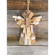 "Load image into Gallery viewer, 7"" Driftwood Angel"