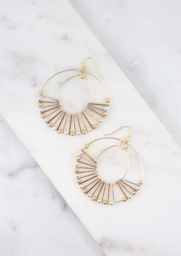 Poppie Cutout Hoop Earring