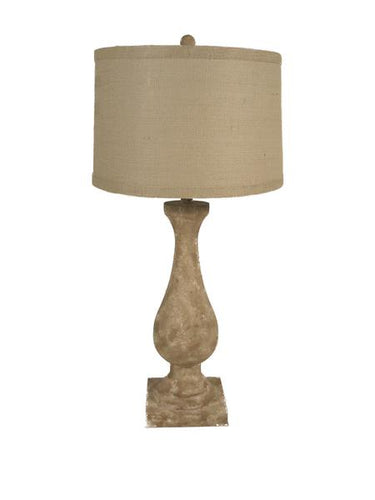 Distressed Accent Lamp
