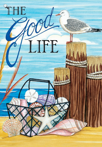 Small Flag- The Good Life