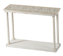 "Load image into Gallery viewer, 42"" x 14"" x 32""  Spindle Ball Post Console Table"