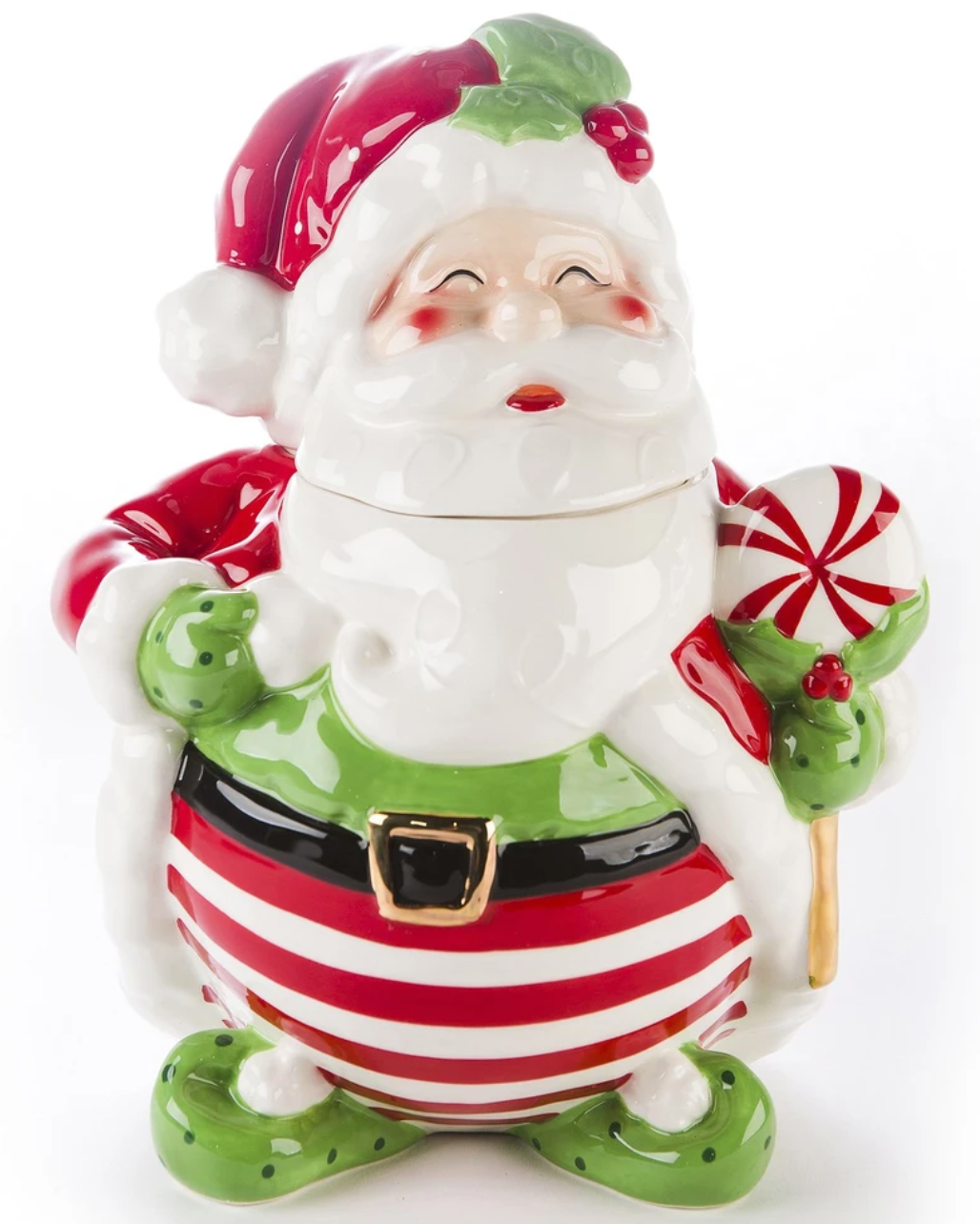 Jolly Saint Nick/Santa Cookie Jar