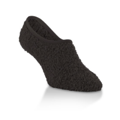 WS Cozy Footsie w/Grippers-Black
