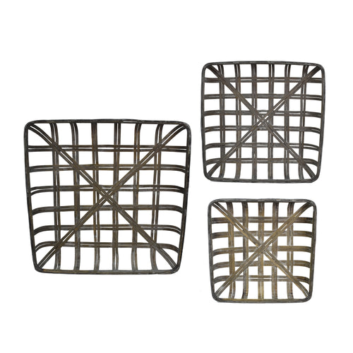 Open Weave Tobacco Basket (Three sizes, Sold Separately)