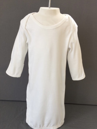 White Baby Gown One Size