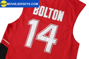 Zac Efron #14 Troy Bolton Wildcats High School Musical Basketball Jersey