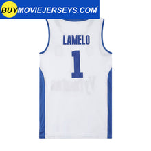 Load image into Gallery viewer, LaMelo Ball #1 LiAngelo Ball #3 Lithuania Vytautas Jersey Ball Brothers Throwback Jersey