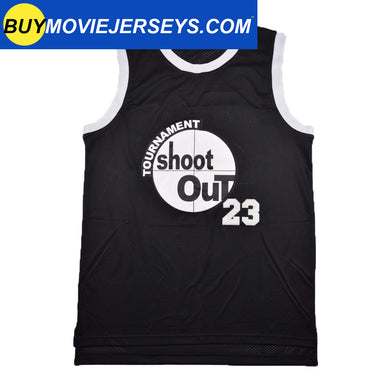 Above the Rim Shoot Out #23 Motaw Basketball Movie Jersey