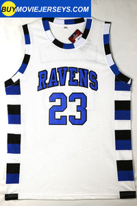 Nathan Scott #23 One Tree Hill Ravens Throwback Basketball Movie Jersey