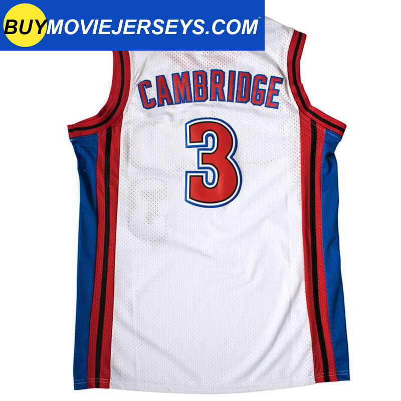 Like Mike Knights Basketball Calvin Cambridge Basketball Movie Jersey