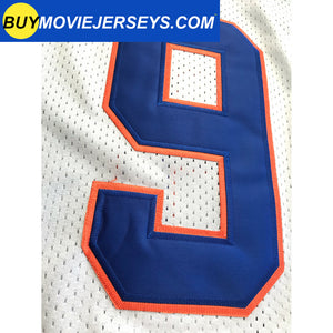 The Waterboy Movie Muddogs Bobby Boucher Jersey #9 White Color