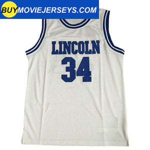 He Got Game Jesus Shuttlesworth Basketball Movie Jersey