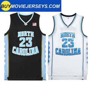 Michael Jordan #23 UNC Basketball Throwback Jersey