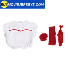 Load image into Gallery viewer, The Conjuring Doll Annabelle Cosplay Costume Halloween Horror Fancy White Dress