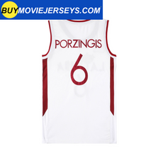 Load image into Gallery viewer, Kristaps Porzingis Latvia Basketball Jersey