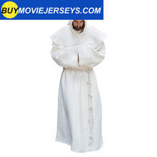 Load image into Gallery viewer, Mens Medieval Friar Hooded Robe Monk Renaissance Costume Halloween Cosplay Size S-5XL