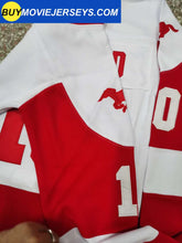 Load image into Gallery viewer, MUSTANGS Hockey Jersey Youngblood Movie Rob Lowe #10 Hockey Jersey