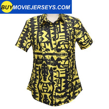 Load image into Gallery viewer, Girl Stranger Things 3 Eleven Shirt Cosplay Costume Yellow Shirt with Suspenders