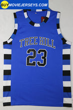 Load image into Gallery viewer, Nathan Scott #23 One Tree Hill Ravens Throwback Basketball Movie Jersey