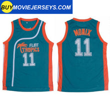 Load image into Gallery viewer, Semi-Pro Flint Tropics MONIX #11  Basketball Movie Jersey