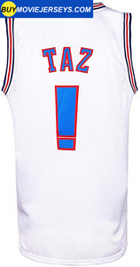 Space Jam Basketball Jersey Tune Squad # ! TAZ