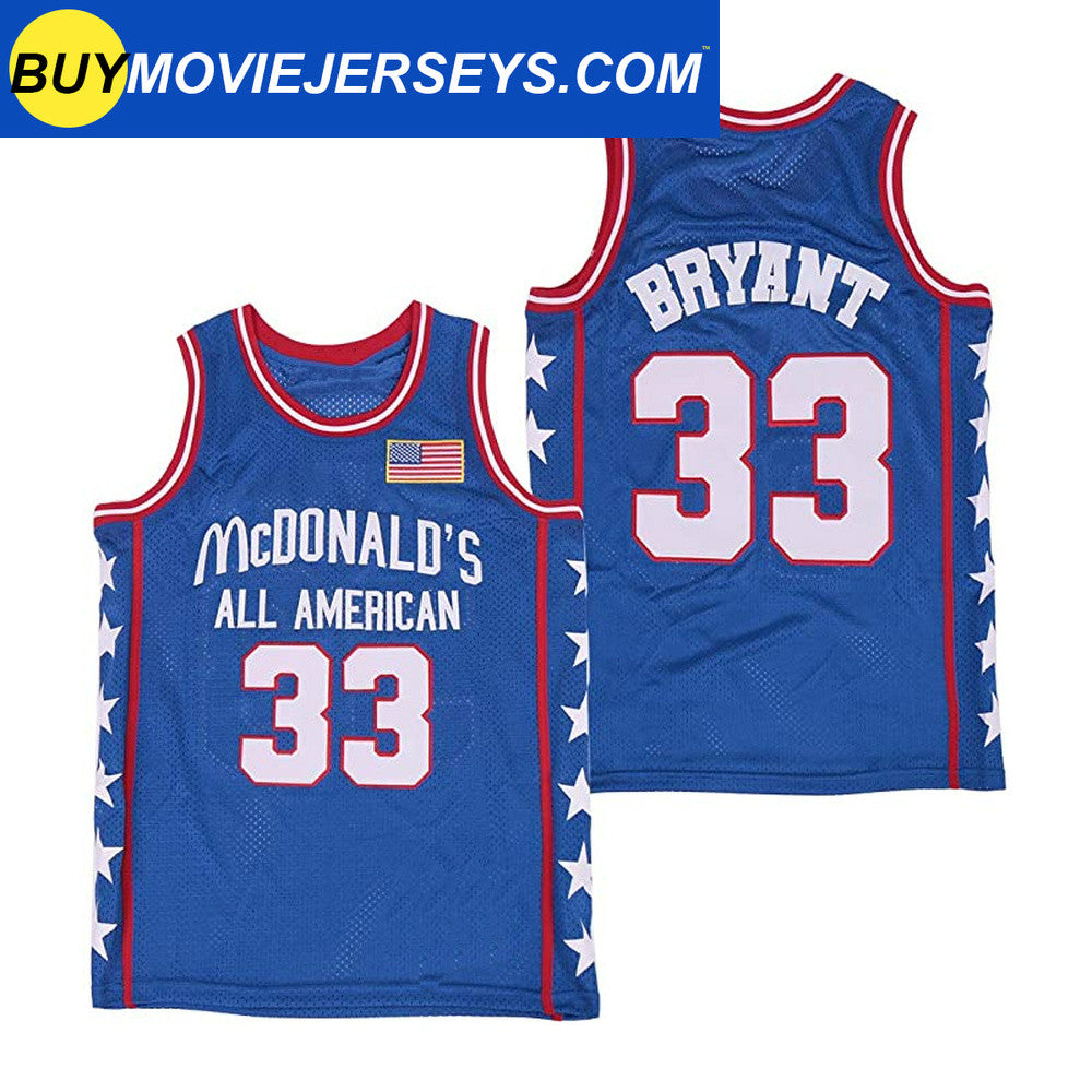 Kobe Bryant Mcdonald's All American Basketball Jersey #33