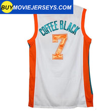 Load image into Gallery viewer, Semi-Pro Flint Tropics COFFEE BLACK #7  Basketball Movie Jersey