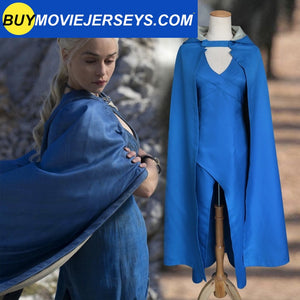 Game Of Thrones Khaleesi Daenerys Targaryen Warrior Queen Halloween Costume