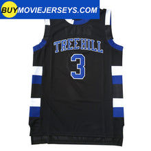 Load image into Gallery viewer, Lucas Scott One Tree Hill Ravens #3 Basketball Movie Jersey