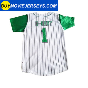 HARD BALL Movie Jerseys G-Baby #1 Kekambas Baseball Jersey