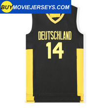 Load image into Gallery viewer, Dirk Nowitzki #14 Wurzburg Germany Basketball Jersey