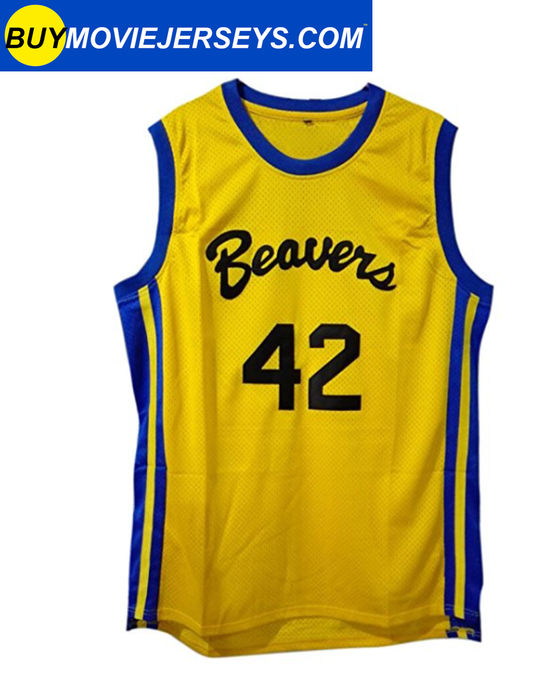Teen Wolf  Scott Howard Basketball Movie Jersey #42
