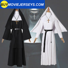 Load image into Gallery viewer, The Nun Valak Sister The Conjuring Scary 2 Cosplay Costume Halloween Women Dress