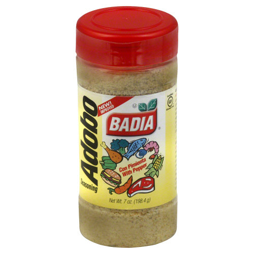 BADIA: Adobo with Pepper Seasoning, 7 oz