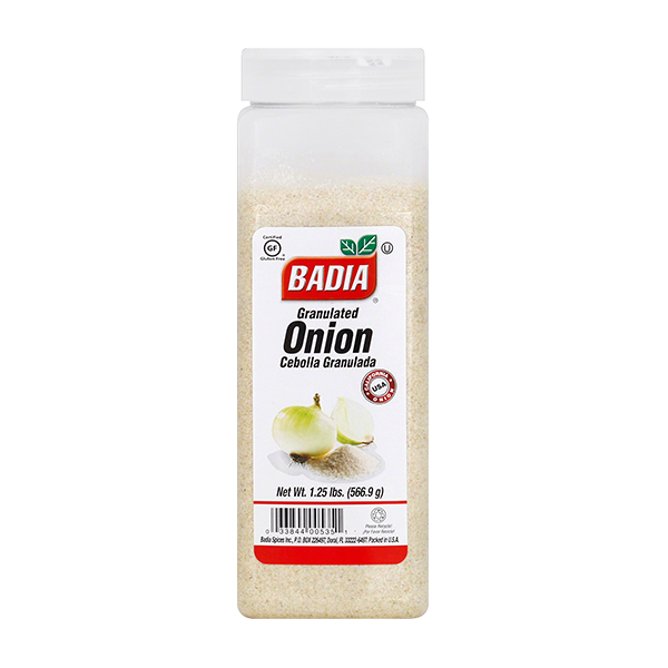 BADIA: Onion Granulated, 20 oz