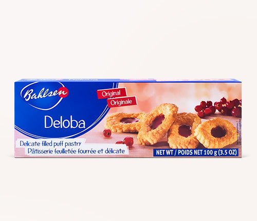 BAHLSEN: Cookie Deloba with Fruit Filling, 3.5 oz