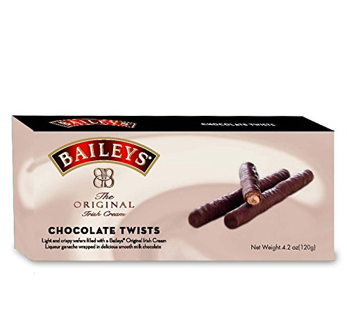 BAILEYS: Chocolate Twists Biscuits, 4.2 oz