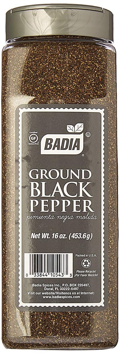 BADIA: Pepper Black Ground, 16 oz