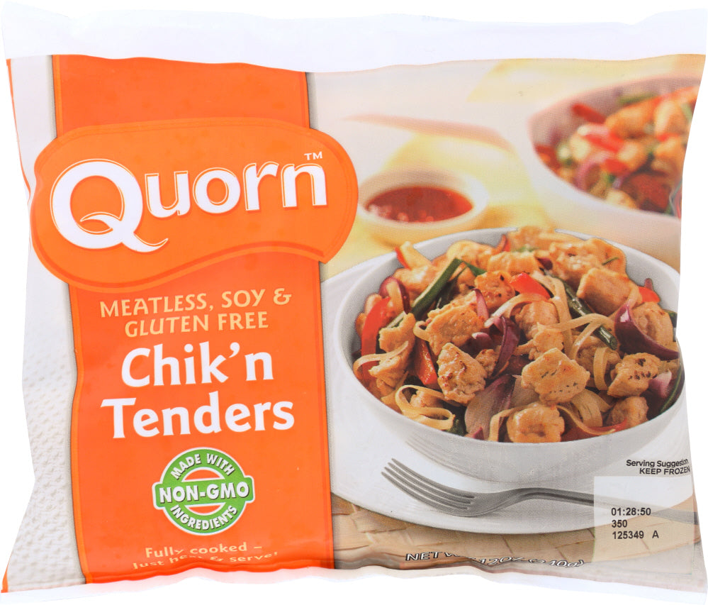 QUORN: Meatless and Soy Free Chick'n Style Tenders, 12 oz