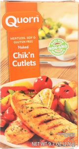 QUORN: Meatless & Soy Free Naked Chik'n Cutlets, 9.7 oz
